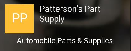 Patterson's Parts Supply